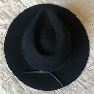 Brixton Wesley Fedora Wool Hat Size S NWOT
